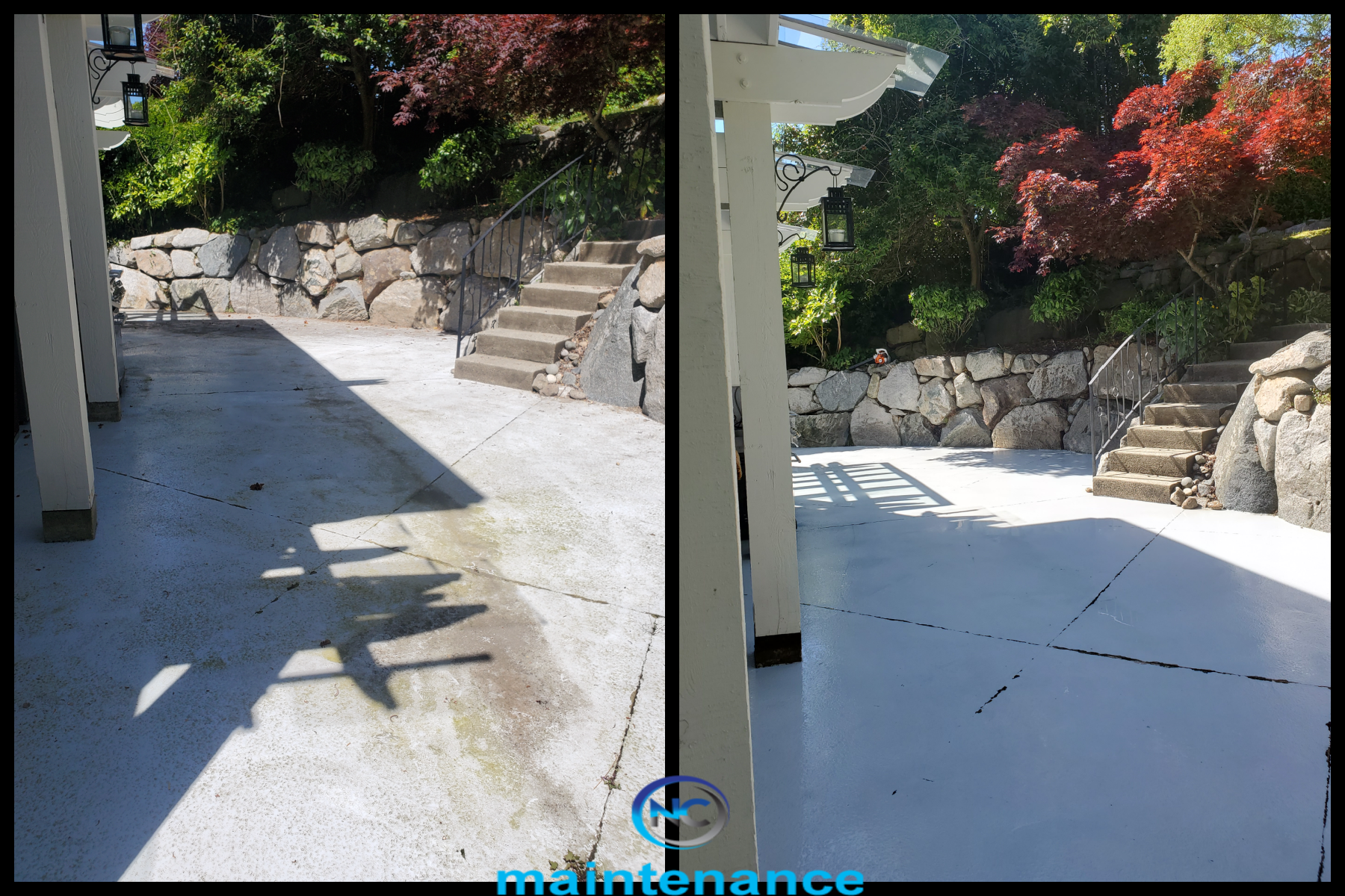 Concrete Cleaning Vancouver British Columbia